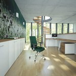 здрави офис мебели от пдч с красив дизайн