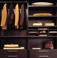 гардеробна стая за мъжки дрехи