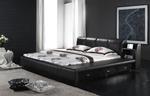 Поръчкова тапицирана спалня по поръчка София с малък матрак