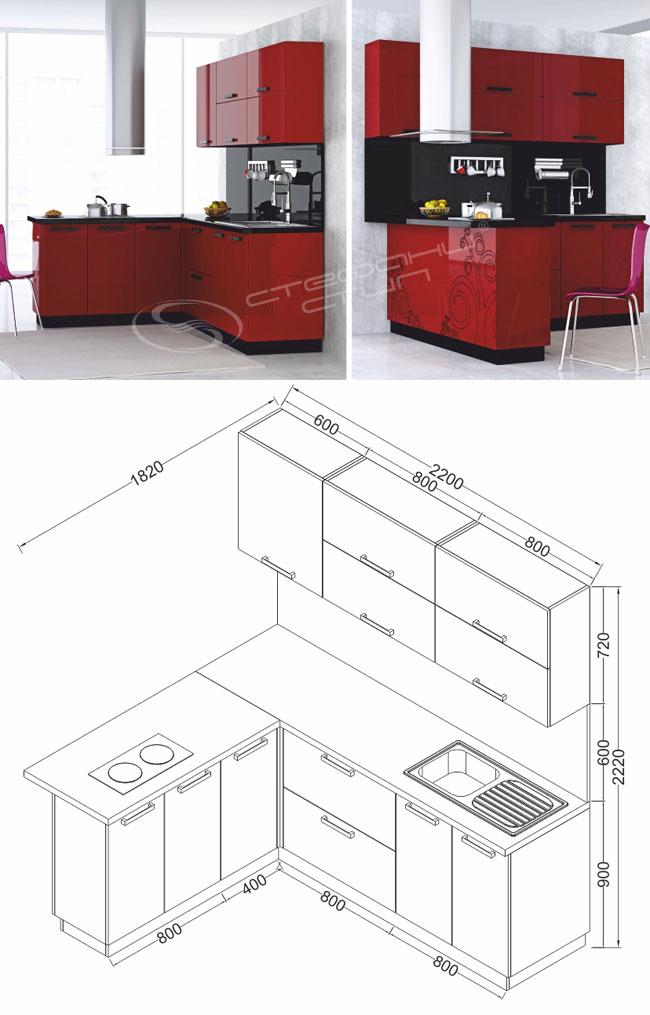 Кухня № 16
