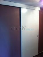Плъзгащи интериорни врати по инивидуален клиентски проект