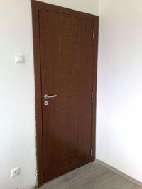 Фрезована фурнирована врата