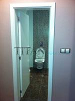 Лакирана интериорна врата за баня