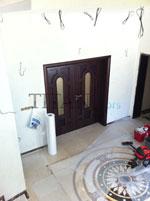 Индивидуални размери на интериорна врата с остъкление