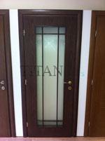 Остъклена врата за дом, хотел, офис и други с матово стъкло