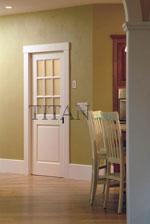 Остъклена интериорна врата за дневна
