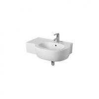 Асиметрична мивка за баня - лява