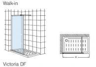 Фиксиран панел за душ корито