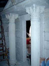 Изграждане на декоративни колони