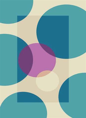 Цветни машинни килими 66х100см