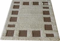 Машинни килими в бежово и кафяво 80х300см