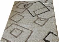 Машинни килими с шарка на квадрати 160х230см