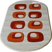 Овални машинни килими 100/200см