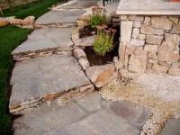 Изграждане на стъпала от естествен камък