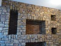 Декоративна стенна облицовка от родопски зид