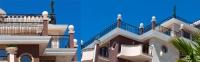Главен корниз от стиропор за фасадни декорации