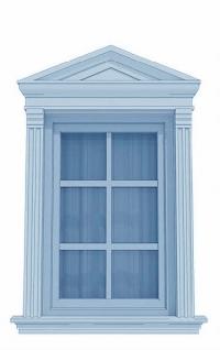 Класически рамки за прозорци
