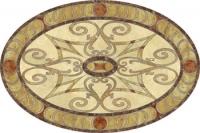 Фигура за под - естествен камък-Милано D-