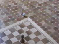 Подова настилка с шахматна дъска