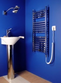 Синя лира за баня