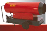 Калорифер на течно гориво - 60 kw