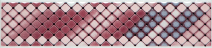 Lilia Pink Border 6x25см