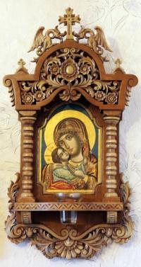 Дърворезба на икони