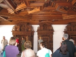 дърворезба на таван 110-3597