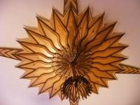 Дърворезба от орех и мура на тавани