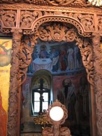 Дърворезба на Бачковски манастир