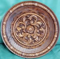 Дърворезба на чиния