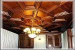 дърворезба по поръчка на тавани 61-3597
