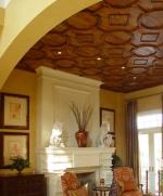 дърворезба на таван по поръчка 74-3597