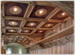 дърворезба на таван 77-3597