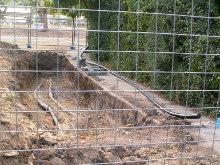 Полагане на кабели в изкоп