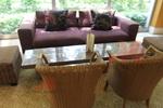 Богатство от изпълнения на мебели от луксозен естествен ратан по поръчка