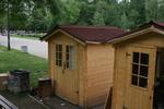изработка на сглобяеми дървени къщи до 6кв.м