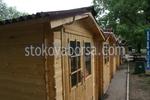 дървена сглобяема къща 9кв.м