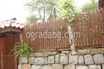 лакирани решетъчни огради от дърво