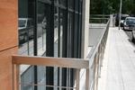 производство на алуминиеви парапети с правоъгълен профил