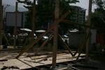 Дървена беседка по поръчка за градината