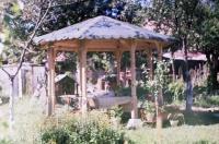 Дървени беседки за градината