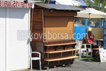 Дървени търговски сергии
