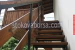 стълбище от метал и дърво по поръчка