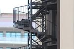 открита вита противопожарна стълба
