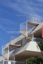 проектиране и изработка на външно метално стълбище