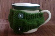 Чаша за чай с пуловер WARM GREEN