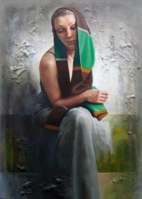 Живописна авторска картина Меланхолия