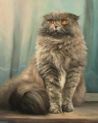Картина портрет на домашен любимец