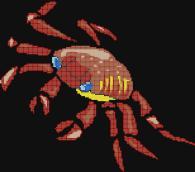 Декоративни мозайка - Рак